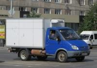 "Фургон модели 2790-0000010 на шасси ГАЗ-3302 ""Газель"" #С 654 КХ 45. Курган, улица Куйбышева"