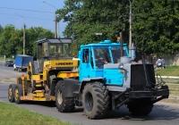 Трактор Т-150К #10779 ТН и каток ДУ-97. Харьков, улица Морозова