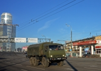 Армейский грузовик КамАЗ-43114 #3897 АМ 77 . Москва, улица 1905 года