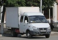"""Фургон на шасси ГАЗ-33023 """"Газель"""" #В 953 ЕА 750. Курган, улица Гоголя"""