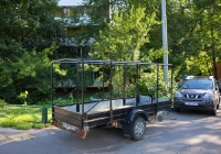 Автомобильный прицеп #ВО 8819 77. Москва, улица Клары Цеткин