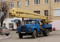 Автоподъёмник ВС-22-МС на шасси ЗиЛ-431412 #М 638 АВ 32. Калуга, Театральная площадь