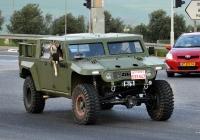 Автомобильная внедорожная платформа ZIBAR Mk2 #533-547 (транзитный номер). Израиль, Хайфа