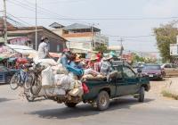 Пикап Nissan D21 #2A-0474. Камбоджа, Баттамбанг
