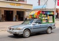 Toyota Camry, переоборудованная в автолавку. Камбоджа, Баттамбанг