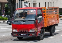 Бортовой грузовик HICOM Perkasa #WHH 8303. Малайзия, Куала Лумпур