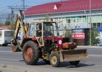 Экскаватор-бульдозер ЭО-2621В-2 на базе трактора ЗТМ-60*. Курган, Станционная улица