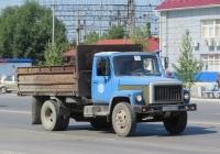 Самосвал ГАЗ-САЗ-4509 на шасси ГАЗ-4301 #О 093 ВС 45. Курган, Станционная улица