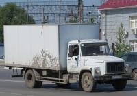Изотермический фургон Чайка-Сервис 278460 на удлинённом шасси ГАЗ-3309 #Х 748 КМ 45. Курган, Станционная улица