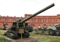 152-мм пушка Бр-2 образца 1935 года. Санкт-Петербург, Музей артиллерии, инженерных войск и войск связи