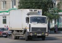 Рефрижератор на шасси МАЗ-5337 #А 238 РС 174. Курган, улица Ленина