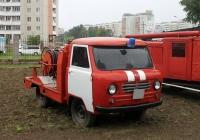 Пожарный автомобиль первой помощи на шасси УАЗ-450Д. Красноярский край, Железногорск, территория пожарной части №10