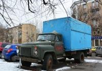Фургон на шасси ГАЗ-53-12 #С 604 МТ 77. Москва, улица Зои и Александра Космодемьянских