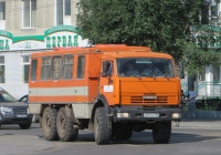 Вахтовый автобус НефАЗ-4208 на шасси КамАЗ-43114 #О 819 ХН 150. Курган, улица Ленина