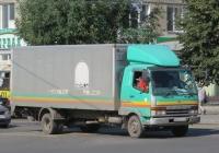 Фургон на шасси Mitsubishi Fuso Fighter #Х 610 ВО 174. Курган, улица Куйбышева