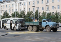 Автомобиль технической помощи на базе ЗиЛ-131НА  #К 695 КХ 45. Курган, улица Гоголя