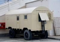 Дизель-генератор на шасси прицепа МАЗ-5207 в узове-фургоне КУНГ-П6. Краснодарский край, Сочи, Морпорт