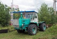 Трактор Т-150К #06386 СК с плугом. Закарпатская область, Виноградов, Копанская улица