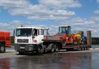Седельный тягач MAN TGA 33.460 #М 235 НА 197. Калуга, набережная Яченского водохранилища