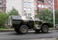 Бронированная пограничная машина БПМ-97 #Н 300 ОУ 37. Иваново, Рабфаковская улица