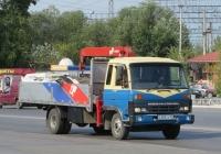 Грузовик с КМУ на шасси Nissan Diesel Condor #А 985 КР 45. Курган, Станционная улица