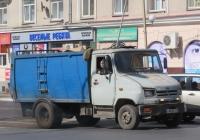 Мусоровоз на шасси ЗиЛ-5301ПО #О 965 КТ 45. Курган, улица Карла Маркса