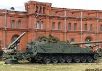 Гусеничный минный заградитель ГМЗ-2. Санкт-Петербург, Музей артиллерии, инженерных войск и войск связи