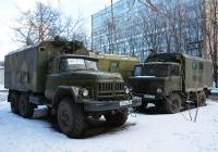 Фургон К131 на шасси ЗиЛ-131 #О 514 АО 750. Москва, улица Черняховского