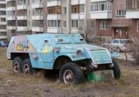 Бронетранспортёр БТР-152В1. Томск