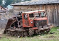 Трелёвочный трактор ТТ-4А. Томская область, Корнилово