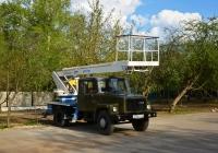 Автовышка АПТ-17М на шасси ГАЗ-3307 #О 376 КТ 197 . Москва, Большая Академическая улица