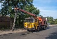 Установка для ямочного ремонта на базе Scania 92М. Запорожская область, Пологи, ул. Магистральная