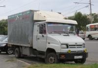 Фургон АФ-47410C на шасси ЗиЛ-5301ЮО #Н 097 ВО 45. Курган, Пролетарская улица