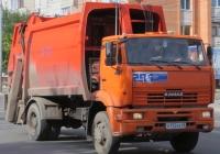 Мусоровоз КО-427-72 на шасси КамАЗ-53605 #А 172 КХ 45. Курган, улица Куйбышева