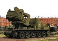 Котлованная машина МДК-2 на базе тягача АТ-Т. Санкт-Петербург, Музей артиллерии, инженерных войск и войск связи