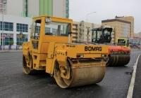 Каток Bomag BW 161 AD #0036 УЕ 86. ХМАО-Югра, Нефтеюганск, Набережная улица