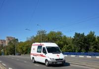 Автомобиль скорой медицинской помощи на базе Mercedes-Benz #У 728 АМ 777. Москва, Ростокинский проезд