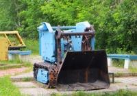 Породопогрузочная машина на гусеничном ходу ППН-2Г. Свердловская область, Североуральск, музей горно-шахтного оборудования