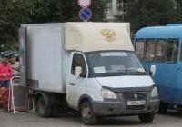 "Фургон Багем-278510-0000010 на шасси ГАЗ-3302 ""Газель"" #У 687 КУ 45. Курган, улица Гоголя"