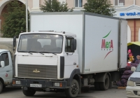 Фургон Купава на шасси МАЗ-4370 #А 896 МВ 45. Курган, улица Гоголя