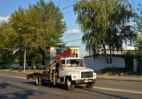 Эвакуатор 3034VU на шасси ГАЗ-3309 #А 497 ХА 77. Москва, улица Космонавта Волкова