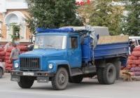 Самосвал ГАЗ-САЗ-3507-01 на шасси ГАЗ-33072 #Т 755 ВО 45. Курган, улица Гоголя