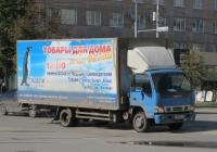 Фургон на шасси Isuzu NQR 75 R #У 193 МС 174. Курган, улица Куйбышева