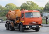 Машина КО-507А на шасси КамАЗ-53215 #У 009 КЕ 45. Курган, улица Климова