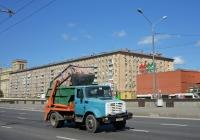 Бункеровоз КО-440А на шасси ЗиЛ-432932 #М 104 РА 197. Москва, Ленинградский проспект