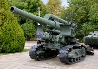 203-мм гаубица Б-4. Краснодар, ПКиО имени 30-летия Победы