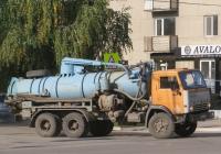 Ассенизационная машина КО-507А на шасси КамАЗ-53213 #В 006 КМ 45. Курган, Советская улица
