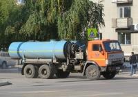Каналопромывочная машина КО-504 на шасси КамАЗ-53213 #Е 666 КК 45. Курган, Советская улица