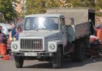 Самосвал ГАЗ-САЗ-3507-01 на шасси ГАЗ-33072 #С 357 ВТ 45 . Курган, улица Гоголя