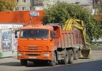 Самосвал КамАЗ-45147 на шасси КамАЗ-65115 #Т 755 КК 45. Курган, улица Куйбышева